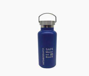 Reuce waste on board with a refillable bottle
