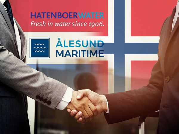 start partnership Alesund Maritime and Hatenboer-Water
